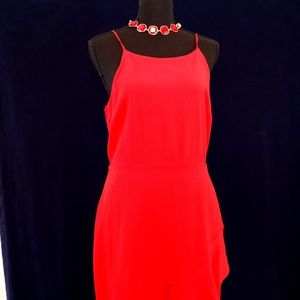 GB Red Cocktail Dress Juniors Size Large. NWT.